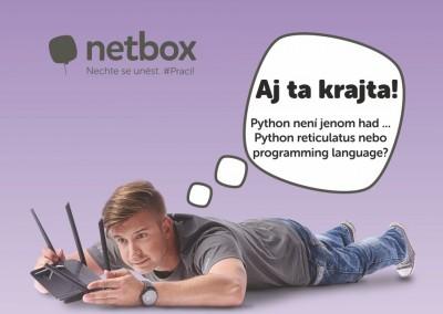 Netbox: Nechte se unést! #Prací!