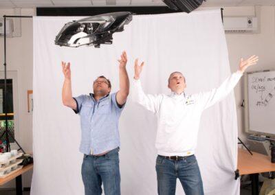 Focení zaměstnanců v Automotive Lighting
