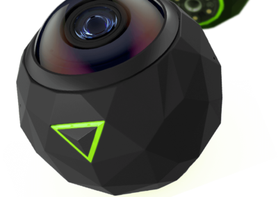 360 stupňová kamera