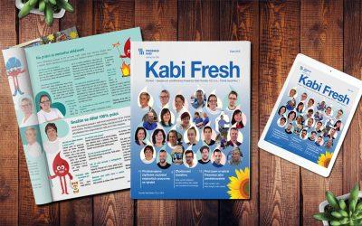 Fresenius Kabi: Jak jsme vytvořili časopis, který si oblíbila celá firma