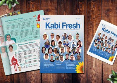 Kabi Fresh: čerstvý časopis