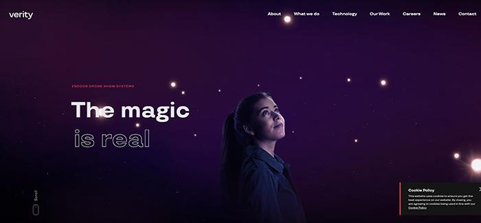Verity web design