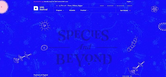 Kikk web design
