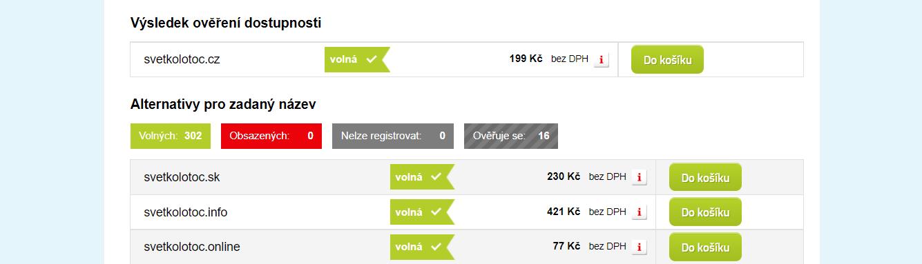 domeny.cz doména